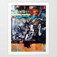 Entropy Poster With Fake… Art Print