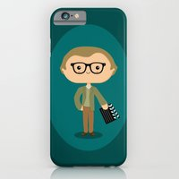 iPhone & iPod Case featuring Woody Allen by Sombras Blancas Art & Design