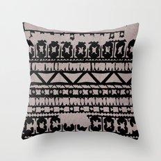 Aztec 4# Throw Pillow