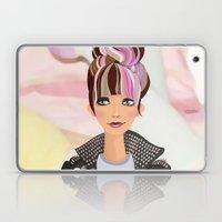 Punk Girl  Laptop & iPad Skin