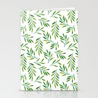 Willow -Green Stationery Cards