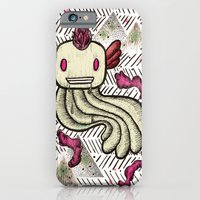 iPhone & iPod Case featuring Mad Squillie by Lost In Mechanics - Tina Leon