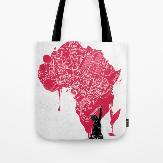 RE | Draw AFRIKA Tote Bag