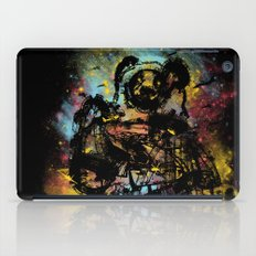 giant panda bot attack iPad Case
