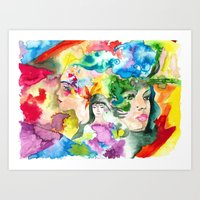 Destruction, Peace, Rebi… Art Print