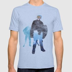 Defender Mens Fitted Tee Athletic Blue SMALL