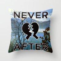 Never After Throw Pillow