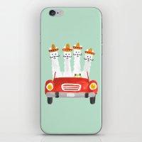 The Four Amigos iPhone & iPod Skin