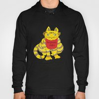 Big Fat Yellow Cat Hoody