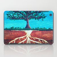 A Tree Only Stands Tall … iPad Case