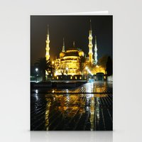 Istanbul night (Turkey 2013) Stationery Cards