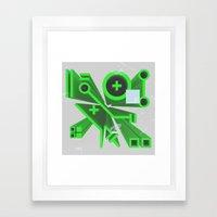 Tech Perspective Framed Art Print