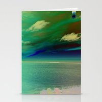 Sunset on the Sound - Outerbanks, North Carolina Stationery Cards