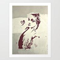 90's Girl Art Print
