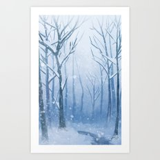 Fresh Powder Art Print