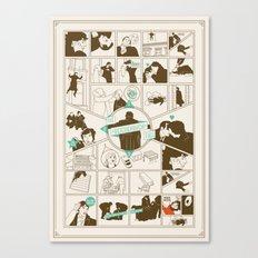The Reichenbach Fall Guide Canvas Print