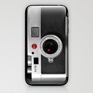 Classic Retro Black Silv… iPhone & iPod Skin