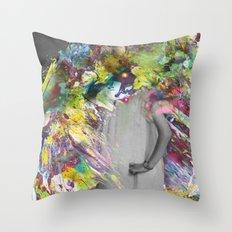 A Glitzy Girl Throw Pillow