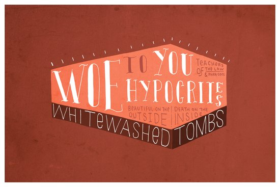 Whitewashed Tombs (by Kyle Steed) Art Print