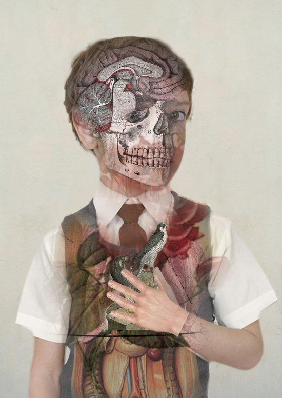 Brain Child  Art Print