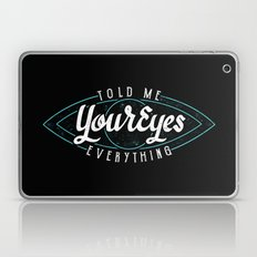 Behind Blue Eyes Laptop & iPad Skin