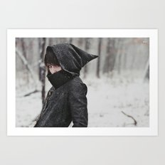 She was an assassin Art Print