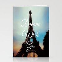 Dream Wish Go Stationery Cards