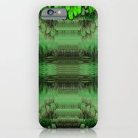 iPhone Cases featuring Fantasy island  by Pepita Selles