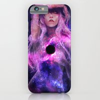iPhone Cases featuring Supermassive Black Hole by May Ornelas