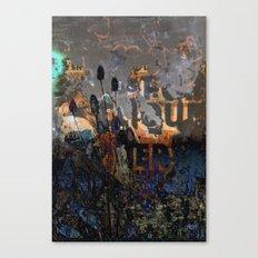 TEASEL III Canvas Print