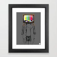24K - No Signal Framed Art Print