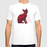Sacred Sphynx Mens Fitted Tee White SMALL