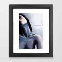 Charge Framed Art Print