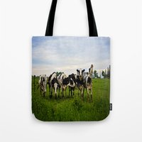 Classic Cows 1 of 2 Tote Bag