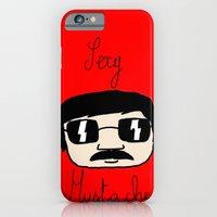 iPhone & iPod Case featuring Sexy Mustache by Dario Olibet