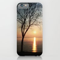 iPhone Cases featuring The old man and the sea by Paula Belle Flores