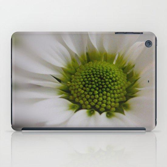 White Marguerite iPad Case