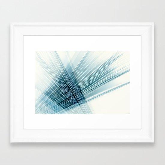 paper weave Framed Art Print