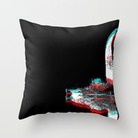 Sidewinded (Inverted) Throw Pillow