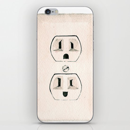 Emotional Outlets iPhone & iPod Skin