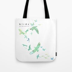 Birds of the arctic Tote Bag