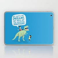 my car-nivorous dinosaur Laptop & iPad Skin