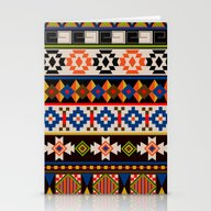 Colourful Tribal Aztec P… Stationery Cards