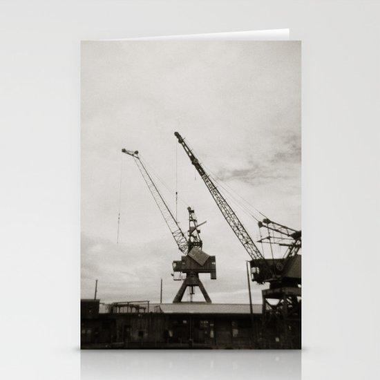 { dancing cranes } Stationery Card
