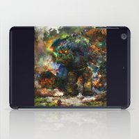 shadow of the witcher iPad Case