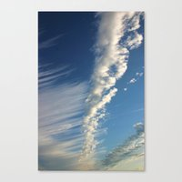 Up, Up And Above Canvas Print