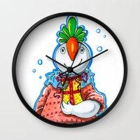 Your Neighbour Snowman Wall Clock