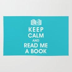 Keep Calm and Read Me A Book Rug