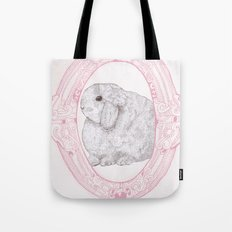 Cameo Bunny Tote Bag