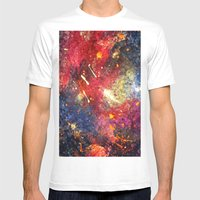 Hexa Mens Fitted Tee White SMALL